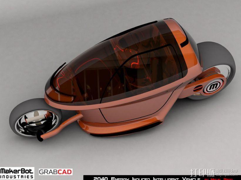 智能摩托 3D模型  图8
