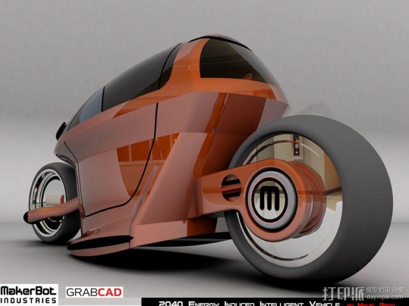 智能摩托 3D模型  图9