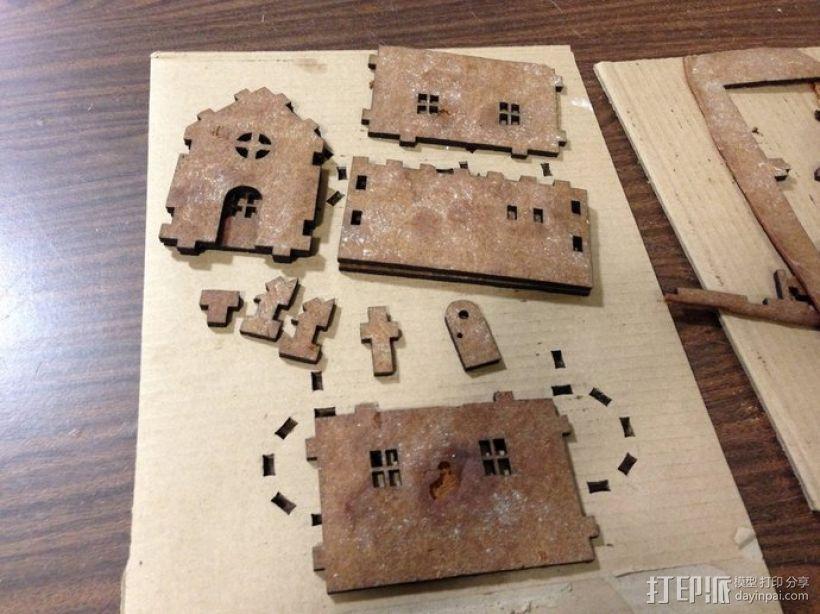 姜饼屋 3D模型  图8