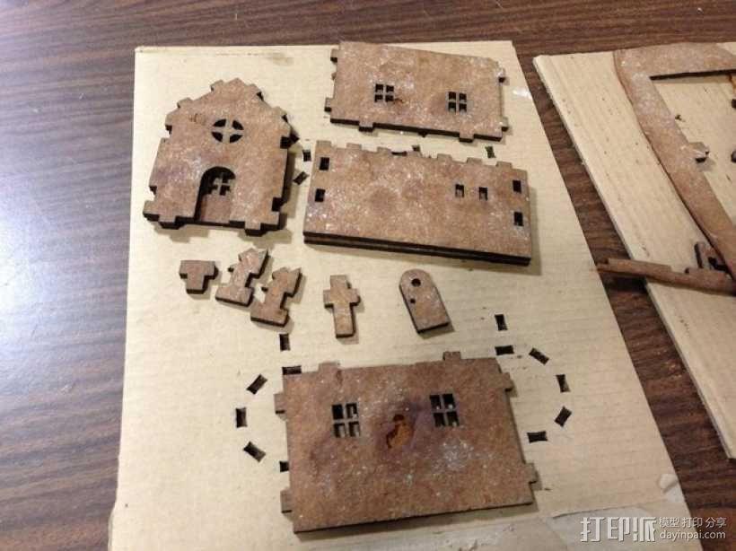 姜饼屋 3D模型  图7