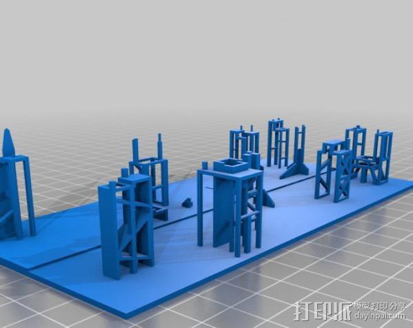 进取号星舰 3D模型  图3