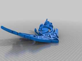 蝴蝶 3D模型