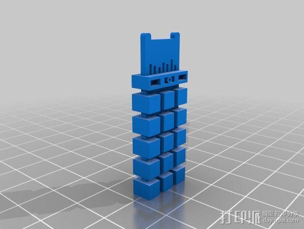 终结者生化芯片模型 3D模型  图1