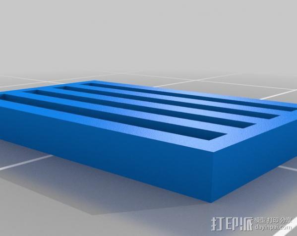 终结者生化芯片模型 3D模型  图3