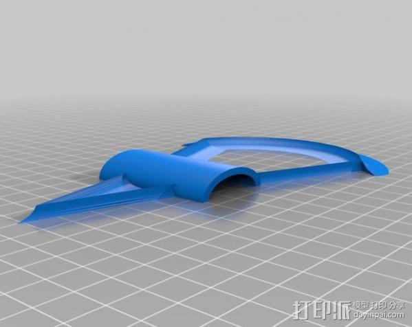 刺客信条 战斧 3D模型  图2