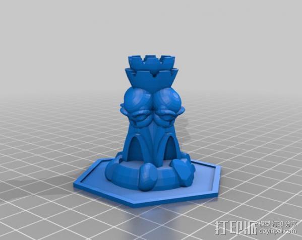 魔法塔 3D模型  图1