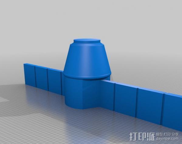 太空运输飞船 3D模型  图4