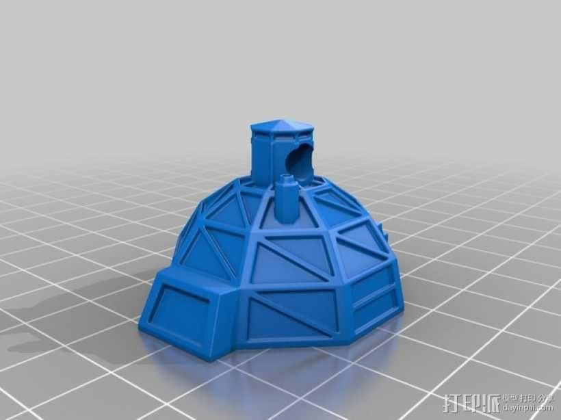 冰屋 3D模型  图1