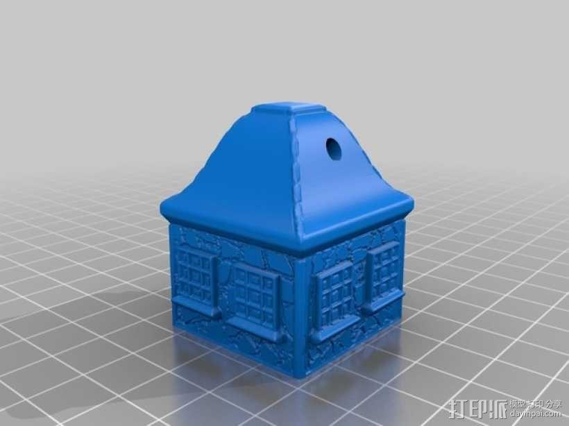 小平房 3D模型  图1