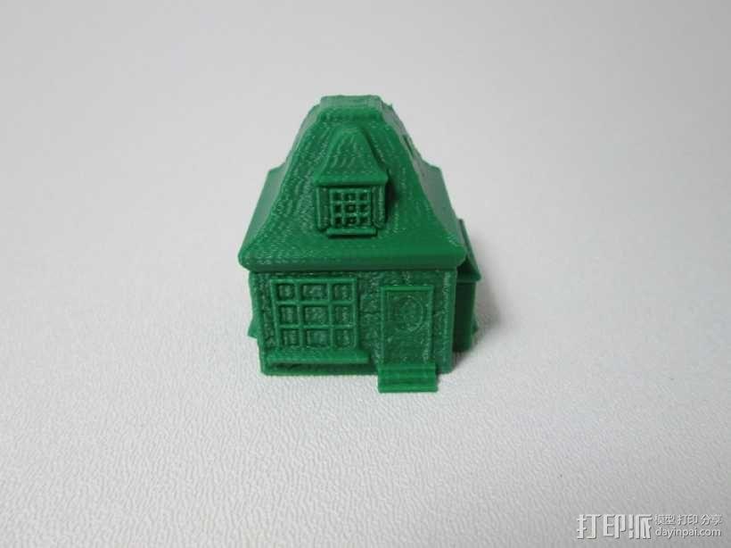 小平房 3D模型  图2