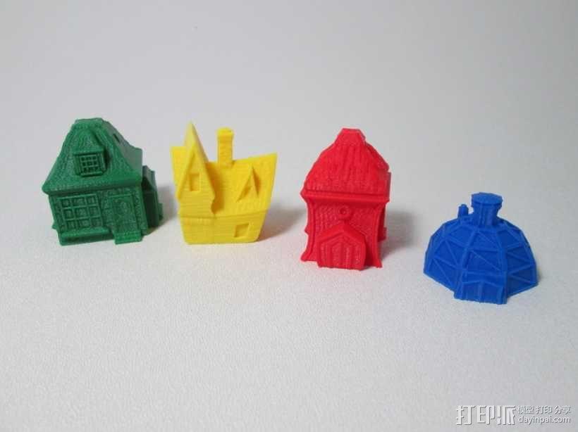 小平房 3D模型  图3
