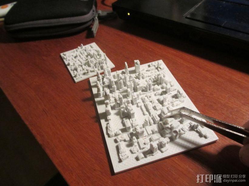 城市建筑地图 3D模型  图3