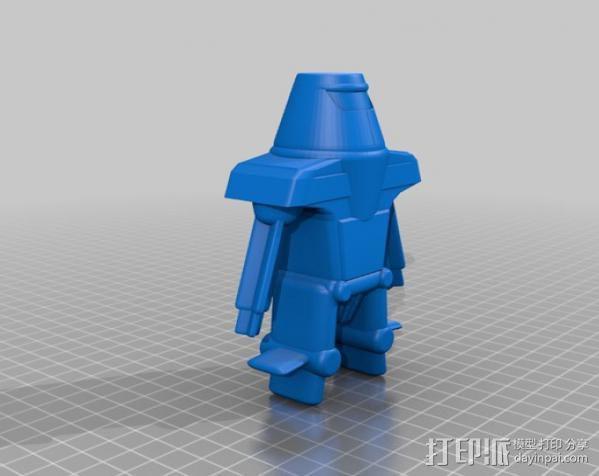 Maxamillion机器人  3D模型  图1
