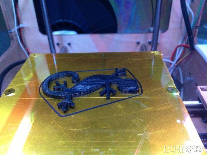 壁虎 3D模型  图2