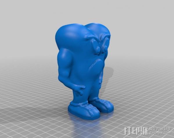 幽灵 妖怪 3D模型  图1