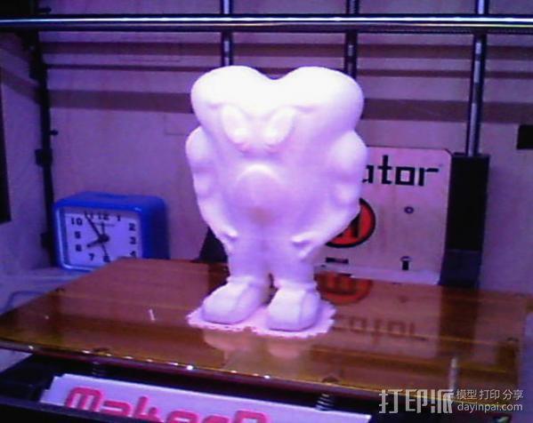 幽灵 妖怪 3D模型  图2