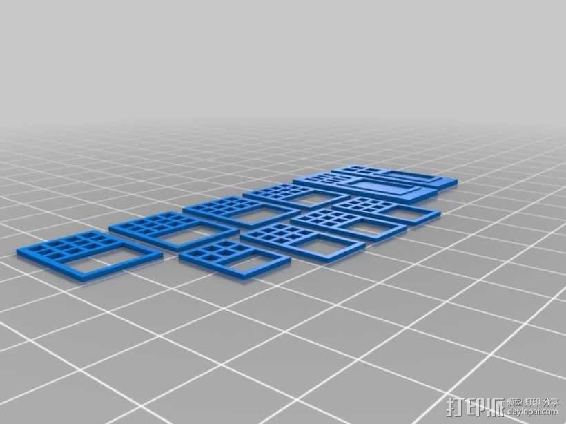 Rodessa小平房 3D模型  图3