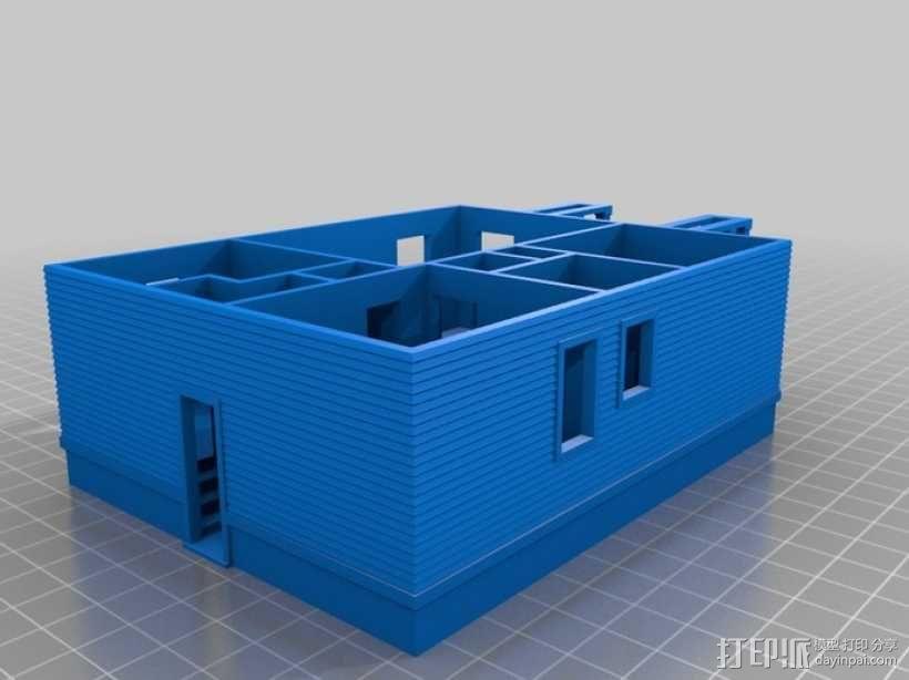 Rodessa小平房 3D模型  图2