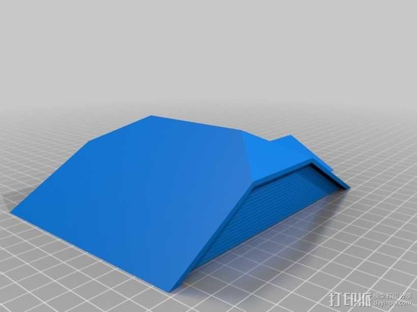 Rodessa小平房 3D模型  图5