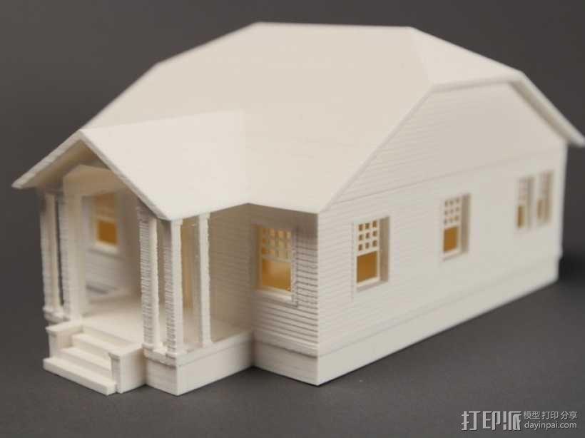 Rodessa小平房 3D模型  图4