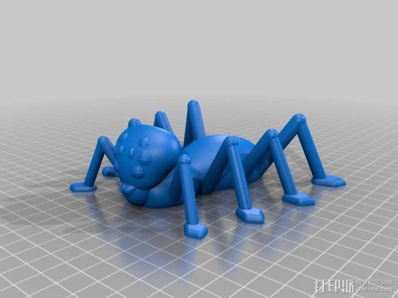 万圣节蜘蛛 3D模型  图1