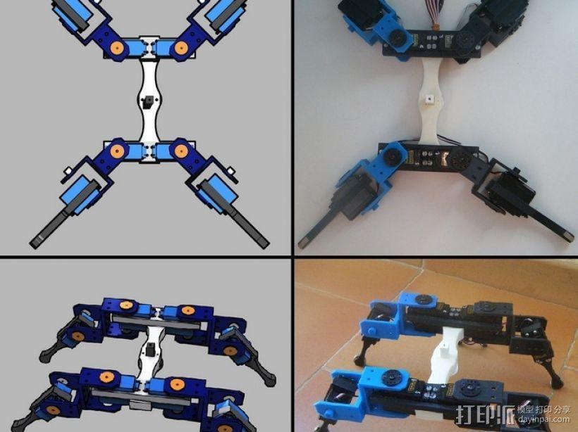 AT-AS四足机器人 3D模型  图5