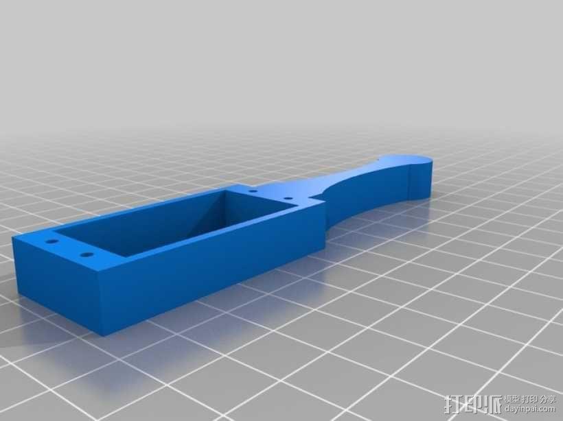 AT-AS四足机器人 3D模型  图7