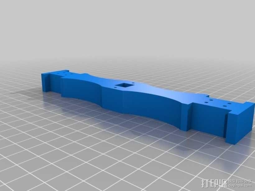 AT-AS四足机器人 3D模型  图6