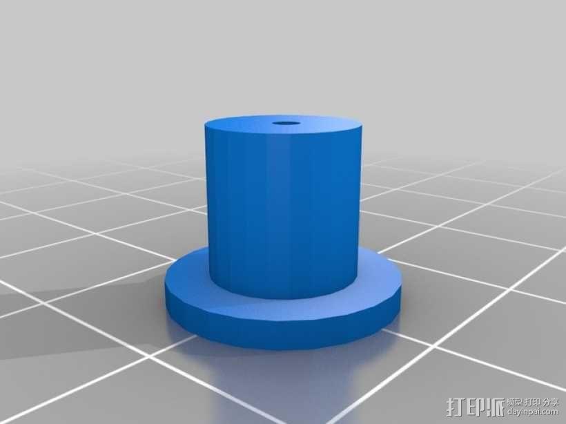 AT-AS四足机器人 3D模型  图10