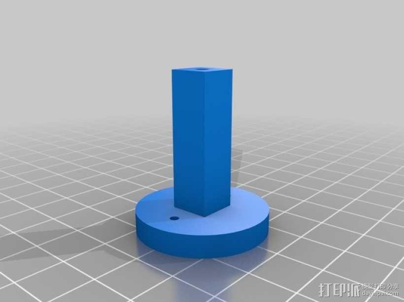AT-AS四足机器人 3D模型  图12
