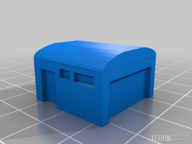 仓库建筑模型 3D模型  图1