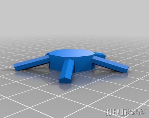 二十面体 迷你圆屋顶 3D模型  图5