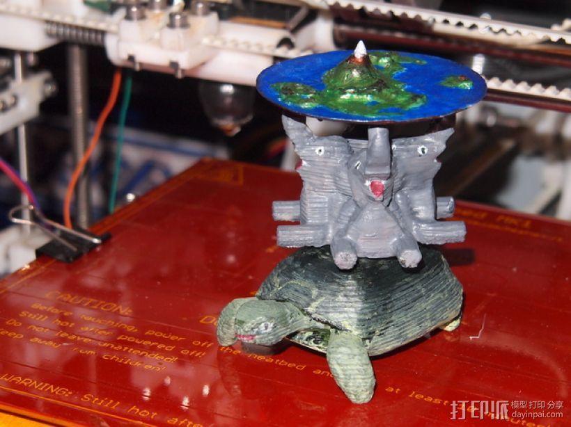 蝶形世界 游戏造型 3D模型  图1