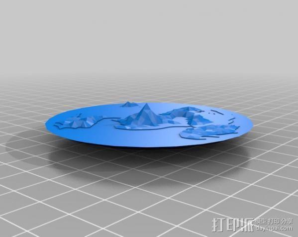 蝶形世界 游戏造型 3D模型  图4