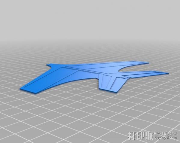 喷射机  3D模型  图2