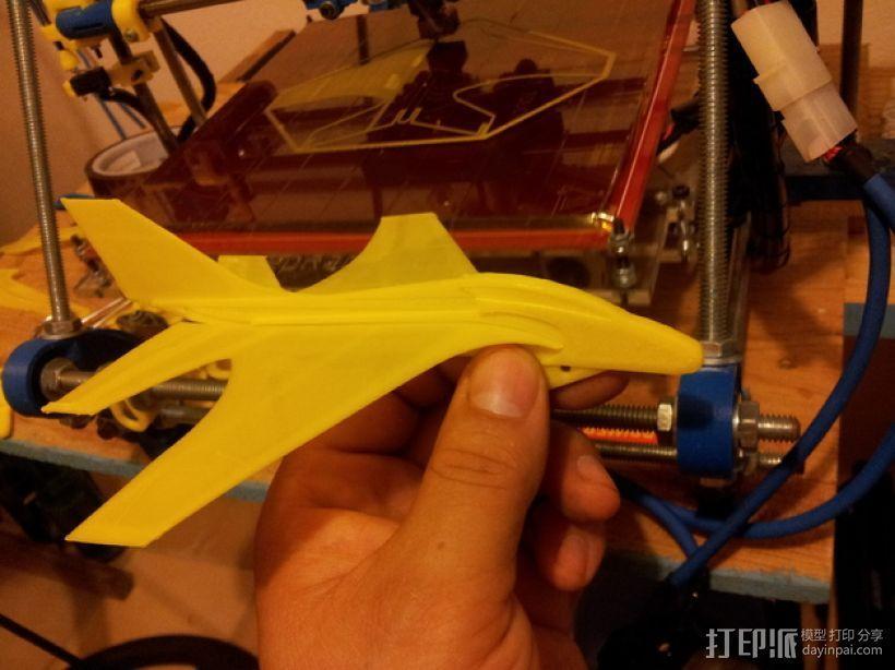 喷射机  3D模型  图1