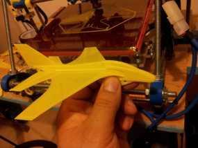 喷射机  3D模型