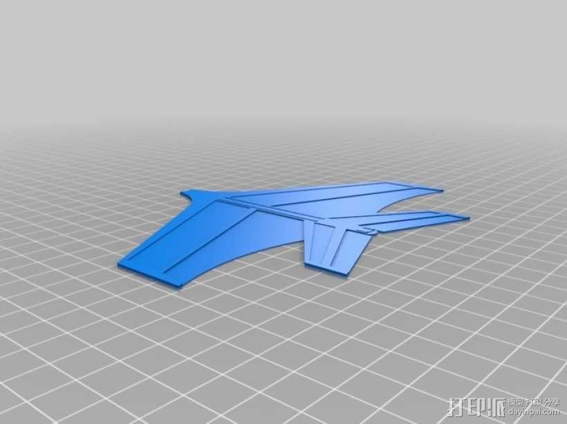 喷射机  3D模型  图5