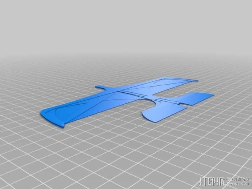 喷射机  3D模型  图4