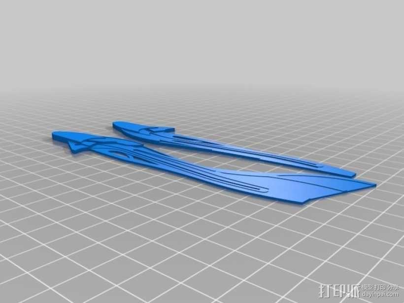 喷射机  3D模型  图6