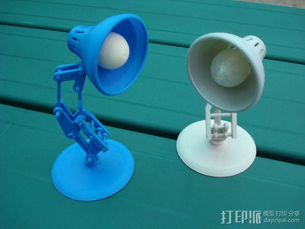 台灯灯泡 3D模型  图2