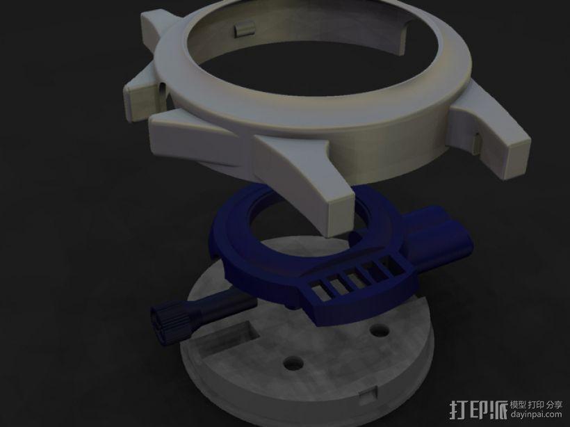 蛛网发射器 3D模型  图5