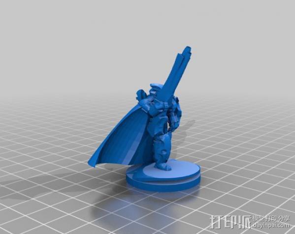 震击部队克隆兵模型 3D模型  图1