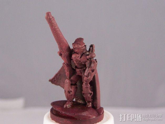 震击部队克隆兵模型 3D模型  图2