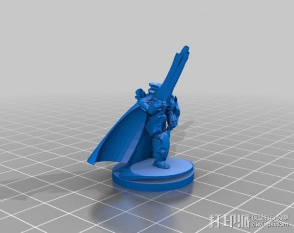 震击部队克隆兵模型 3D模型  图4