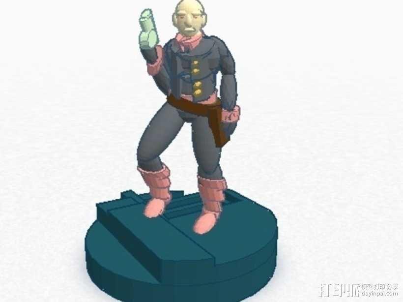 Gordon Plotts游戏角色模型 3D模型  图1