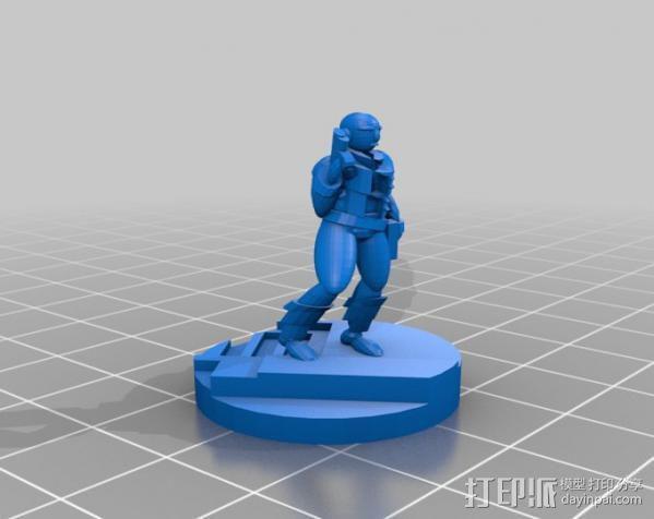 Gordon Plotts游戏角色模型 3D模型  图2