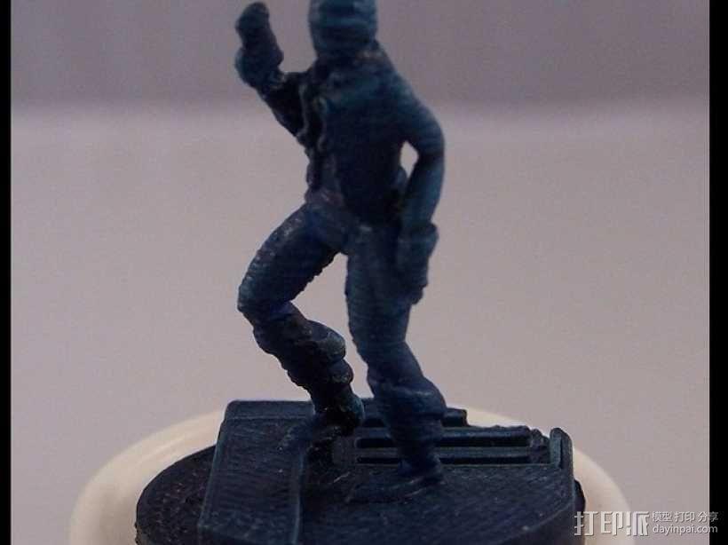 Gordon Plotts游戏角色模型 3D模型  图3