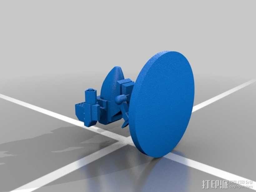 Madcat疯猫机器人 机甲战士  3D模型  图2