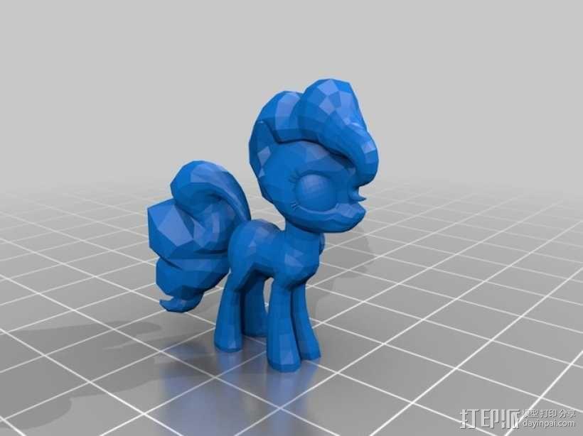 我的小马驹 小马驹模型 3D模型  图4